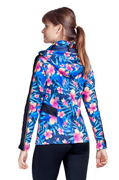 uptou bluza hoody night flowers